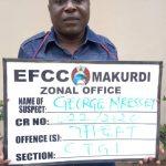 N449.5m Fraud: EFCC Nabs Benue Vigilante Commandant