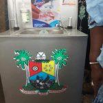Lagos State Government Donates Hand washing Stations To Igando-Ikotun LCDA(PHOTOS)